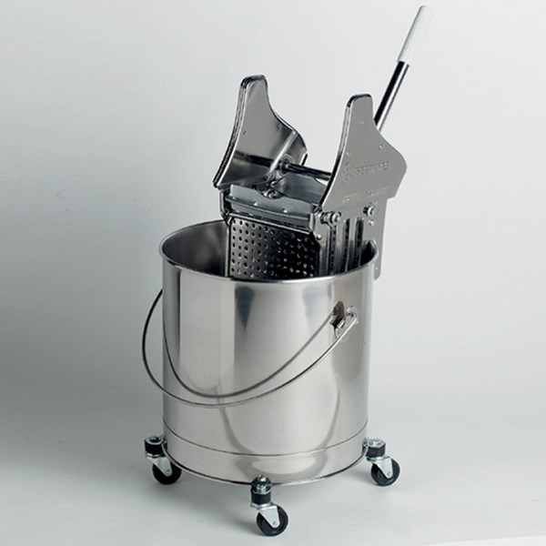 Stainless Steel Buckets - Round